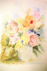 Aquarelle de Marie Latour