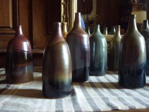 Série de bouteilles