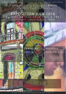 Affiche exposition juin 2016